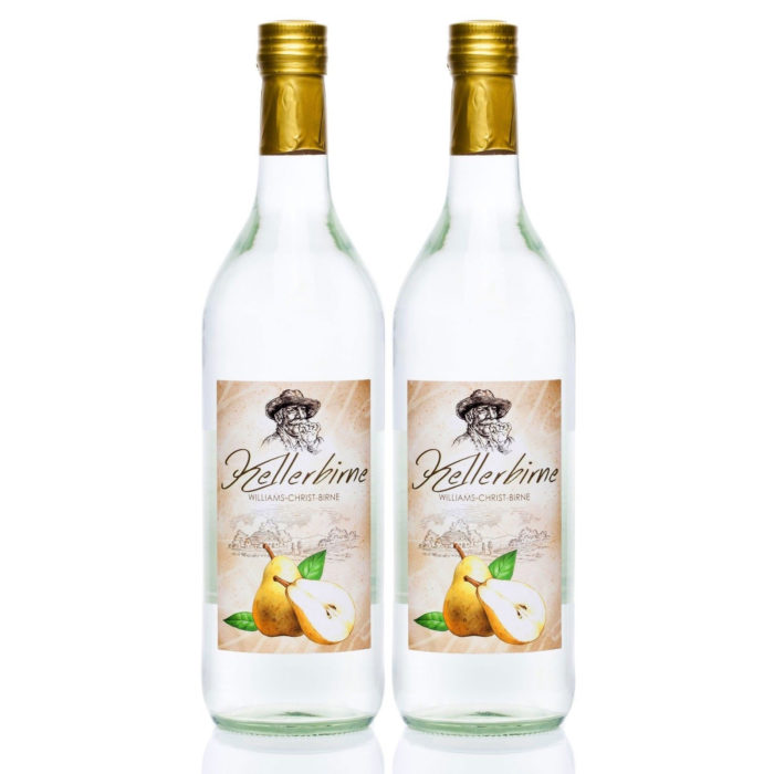 Kellerbirne 2x1,0L Williams-Christ Birnen Schnaps