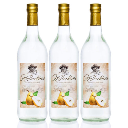 Kellerbirne 3x1,0L Williams-Christ Birnen Schnaps
