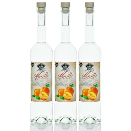 Marille 3x0,7l Marillen-Schnaps Aprikosen Spezialität