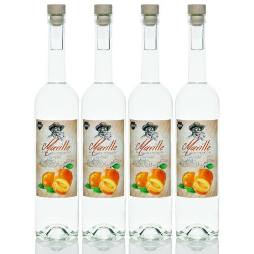 Marille 4x0,7l Marillen-Schnaps Aprikosen Spezialität